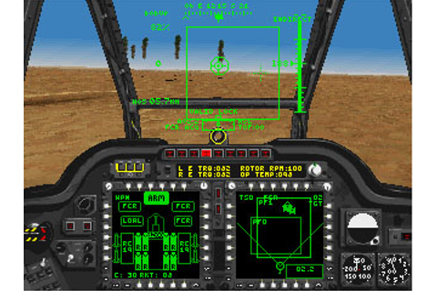 Janes AH-64D Longbow + Manual PC CD pilot attack Apache ...