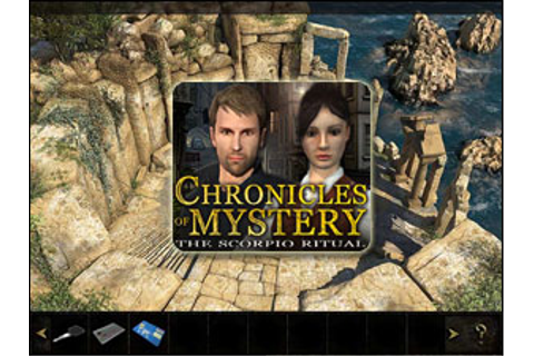 Chronicles of Mystery: The Scorpio Ritual - Walkthrough ...