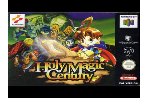 Gameplay Holy Magic Century (N64) - YouTube