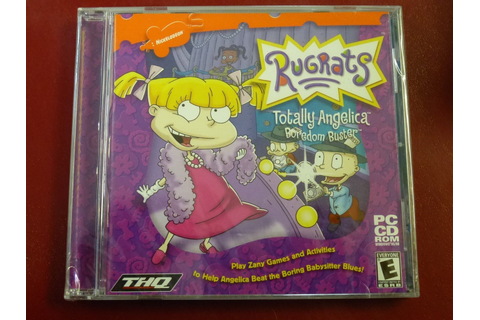 Video Game PC Rugrats Totally Angelica Boredom Buster ...
