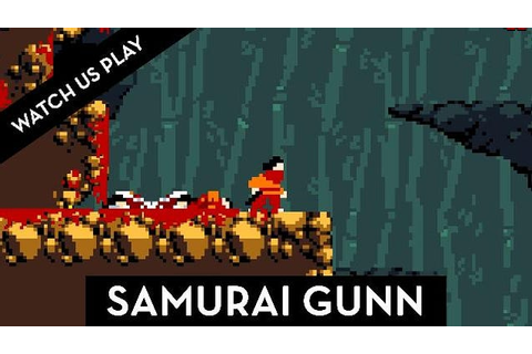 Samurai Gunn Is A Super Fun Multiplayer Minimalist ...