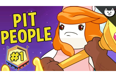 Pit People - NEW GAME BY CREATORS OF CASTLE CRASHERS! (Pit ...