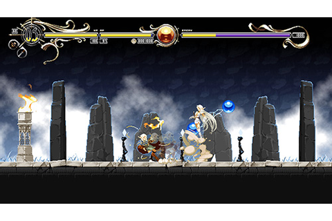 Record of Lodoss War 2D side-scrolling action game by Team ...