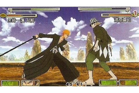 Bleach: Heat The Soul 4 (2007) by Eighting PSP game
