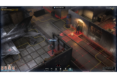 Command a Team of Spies in The Turn-based RPG Phantom Doctrine