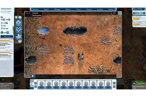 Command and Conquer - Tiberium Alliances - gameplay - YouTube