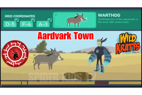 Wild Kratts Aardvark Town (Part 2) ⭐️ Wild Kratts Games ⭐️ ...