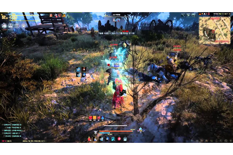 Black Desert Online High Level Witch Gameplay - YouTube