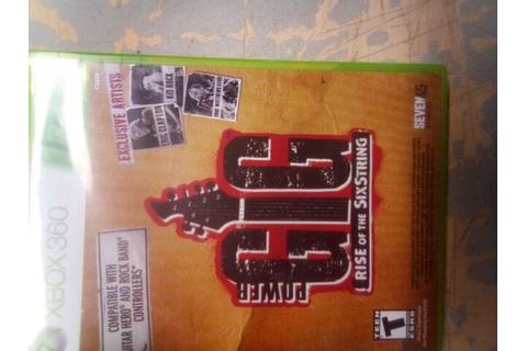 Power Gig: Rise of the SixString (Microsoft Xbox 360) Case ...