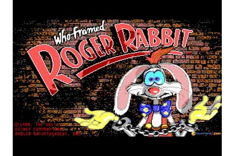 Who framed Roger Rabbit ? gameplay (PC Game, 1988) - YouTube