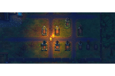 Game Graveyard Keeper about the management of the cemetery ...