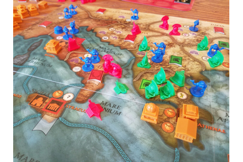 Mare Nostrum: Empires – A Brief Review – The Players' Aid