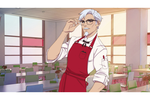 I Love You, Colonel Sanders! Is KFC First Dating Simulator ...