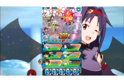 Sword Art Online Code Register : Damage 10k by Yuuki - YouTube