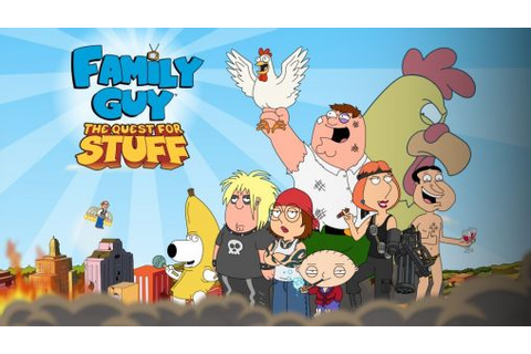 Family guy: The quest for stuff pour Android à télécharger ...