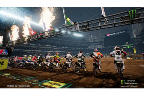Monster Energy Supercross - The Official Videogame Game ...