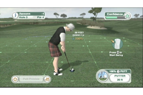 Classic Game Room HD - TIGER WOODS PGA TOUR 09 Wii review ...