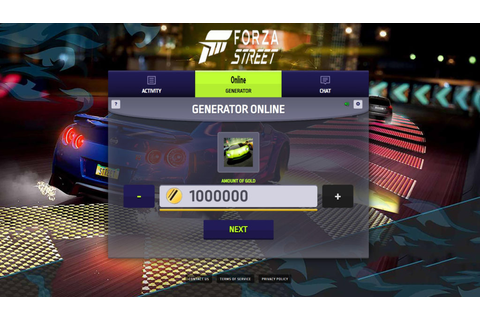 Forza Street Hack Mod Gold and CR Unlimited | Game Online ...