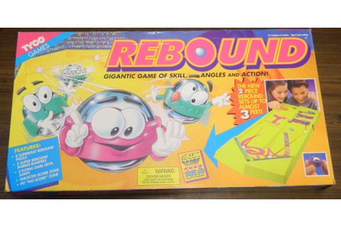 Rebound Board Game Review and Rules | Geeky Hobbies