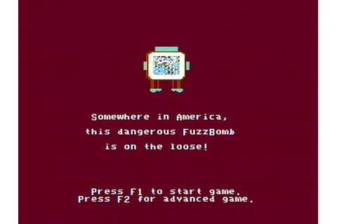 Agent USA Download (1984 Educational Game)