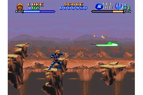 Gage-ing Games: Super Star Wars: Return of the Jedi (SNES ...