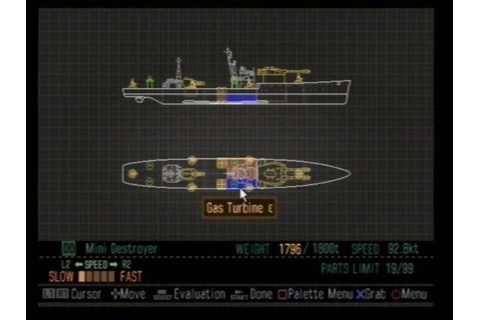 Naval Ops: Commander (2004) by Micro Cabin PS2 game
