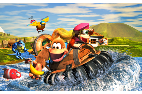 Donkey Kong Country 3: Dixie Kong`S Double Trouble! [1996 ...