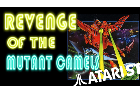 Revenge of the Mutant Camels ( Atari ST) - YouTube