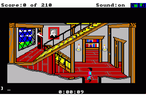 King's Quest III: To Heir is human (1987) Amiga game