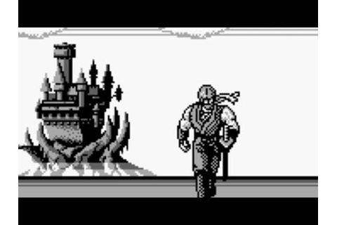 Ninja Gaiden Shadow (Game Boy) Playthrough (No Death ...