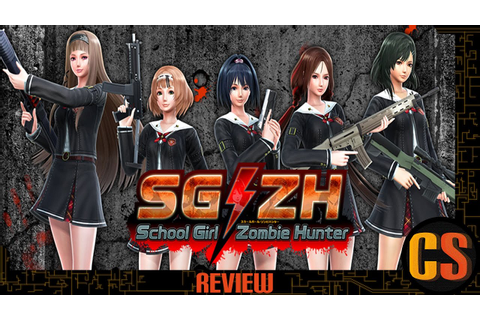 SG/ZH: SCHOOL GIRL ZOMBIE HUNTER - REVIEW - YouTube