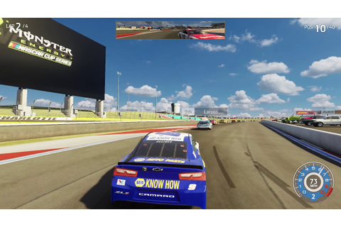 CHARLOTTE ROVAL! | NASCAR Heat 3 Gameplay - YouTube
