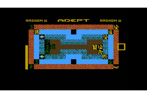 Archon II: Adept for the Atari 8-bit family - YouTube