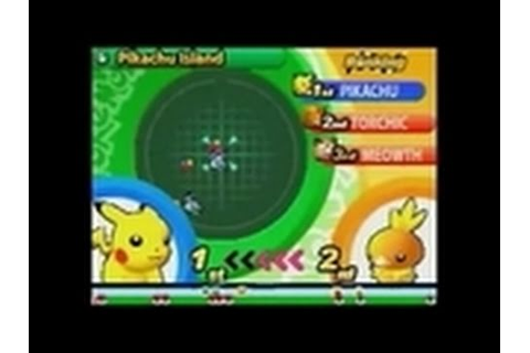 Pokemon Dash! Nintendo DS Gameplay - Pikachu Island - YouTube