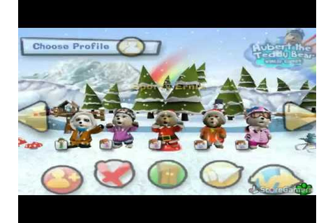 Hubert the Teddy Bear : Winter Games (Jeu Wii) - Images ...