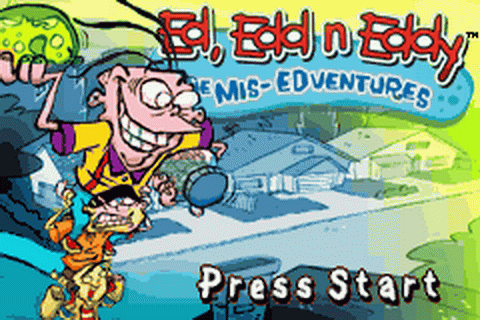 Play Ed, Edd n Eddy - The Mis-Edventures Nintendo Game Boy ...