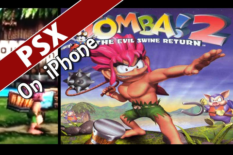 iPhone 4 - Tomba 2 (psx4all PSX emulator) - YouTube