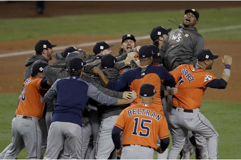 HISTORY EARNED! Astros defeat Dodgers in Game 7, win team ...
