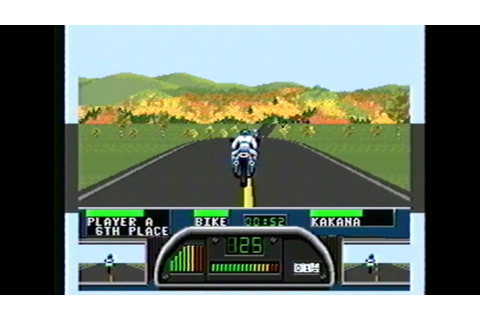 Classic Game Room HD - ROAD RASH II for Sega Genesis ...