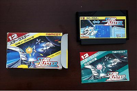 Famicom Star Luster Boxed Japan Namcot game US Seller | eBay