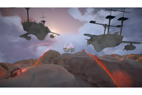 Worlds Adrift Trailer Shows The Sandbox MMO Set In The Sky
