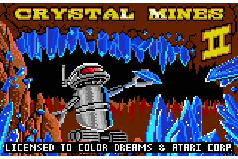 Crystal Mines II Review for Lynx (1992) - Defunct Games