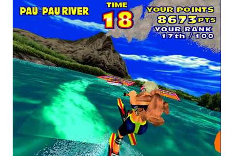 Model 2 Emulator SEGA Water Ski Gameplay (Advanced) - YouTube