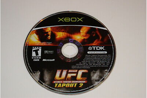 UFC Tapout 2 Microsoft Xbox Video Game Disc Only ...