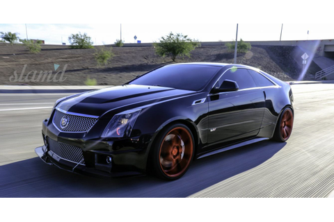 2012 CADILLAC CTS-V COUPE tuning custom lowrider wallpaper ...