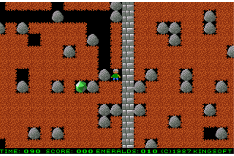 Emerald Mine - 1987 by Kingsoft