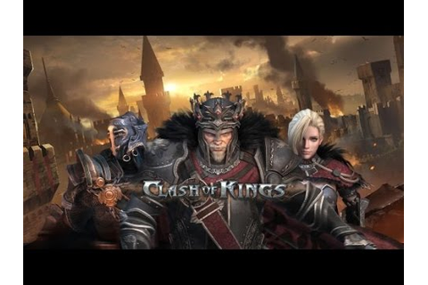 Clash Of Kings no Pc \0/ *-* - YouTube
