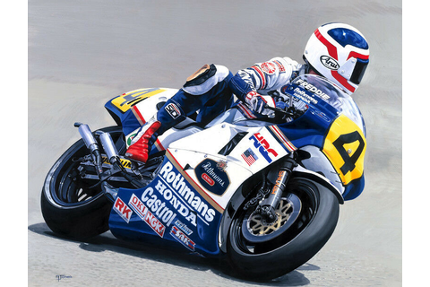 Freddie Spencer Honda NSR 500cc Grand Prix Motorcycle ...