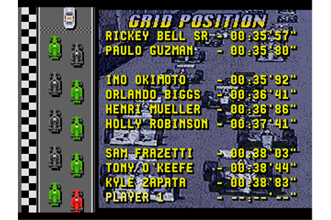 Download Mario Andretti Racing (Genesis) - My Abandonware