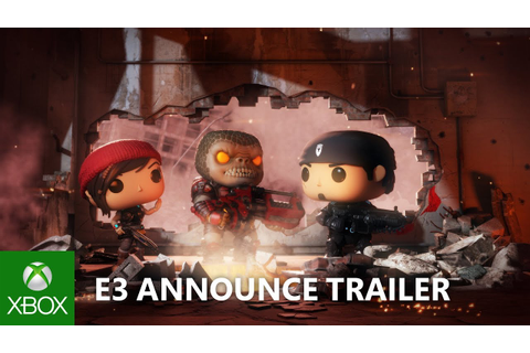 Gears POP! - E3 2018 - Announce Trailer - YouTube